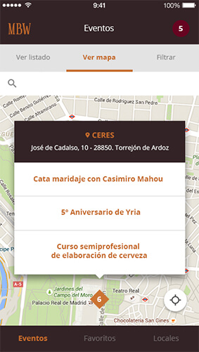 Madridbeerweek Mapa